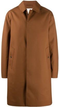 MACKINTOSH Dundee bonded wool coat