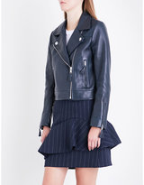 Claudie Pierlot Castel leather jacket