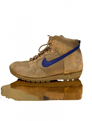 Nike Acg Camel Suede Trainers