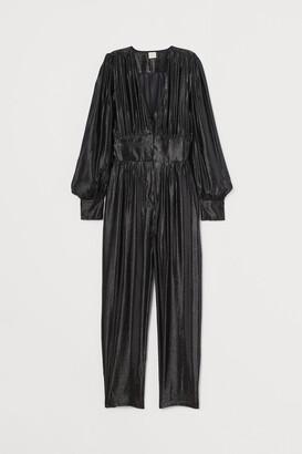 H&M Glittery Jumpsuit