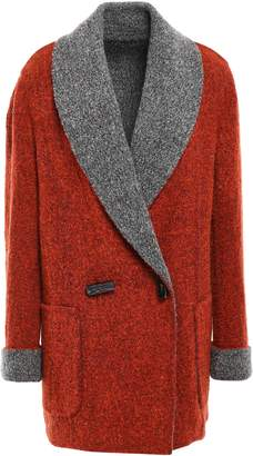 Missoni Reversible Double-breasted Wool-blend Boucle-knit Jacket