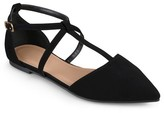 Journee Collection Women's Keiko T-Strap Flats