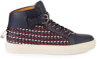 Buscemi Ocean Weave High-Top Sneakers
