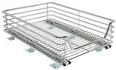 Household Essentials Extra-Deep Sliding Cabinet Organizer, Chrome, 14-1/2-Inch