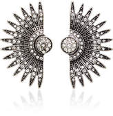 Lulu Frost Beacon Silver-Plated Brass and Glass Stone Studs