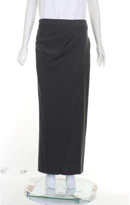 Armani Collezioni Grey Patent leather Skirts