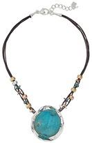 Robert Lee Morris Patina Sculptural Pendant Necklace