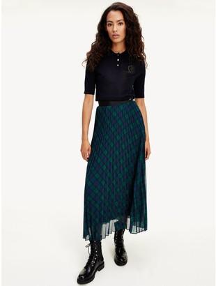 Tommy Hilfiger Icon Pleated Midi Skirt