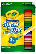Crayola Supertips Markers Washable 20ct