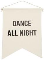 Rise & Fall Rise + Fall Dance All Night Canvas Banner