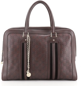 Gucci Zip Briefcase Guccissima Leather Large