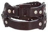Chloé Leather Buckle Belt