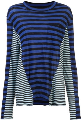 Proenza Schouler Multi Stripe T-Shirt