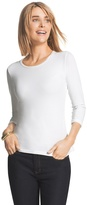 Chico's Collette 3/4-Sleeve Tee