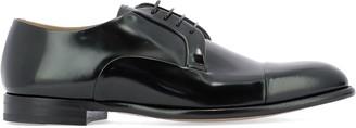 Fabi Patent Lace-Up Shoes