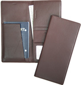 Royce Leather Passport Ticket Holder 211-5