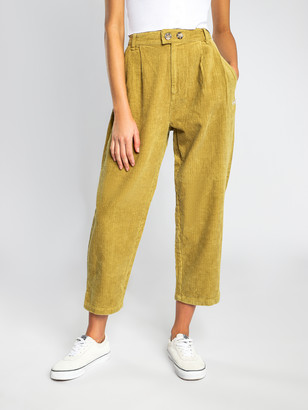 Stussy Suited Cord Pants in Light Mustard