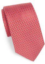 Saks Fifth Avenue Neat Teardrop Silk Tie