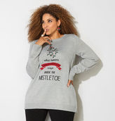 Avenue Mistletoe Holiday Sweater