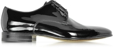 Moreschi Linz Black Patent Leather Lace Up Shoe w/Rubber Sole