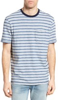 True Grit Men's Feeder Stripe Ringer T-Shirt