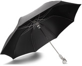 Alexander McQueen Skull Automatic Collapsible Umbrella - Black