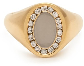 Jessica Biales - Diamond & 18kt Gold Ring - Gold