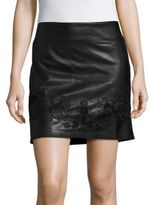 Romeo & Juliet Couture Embroidered Solid Skirt