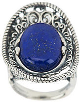 Lapis Carolyn Pollack Sterling Oval Ring