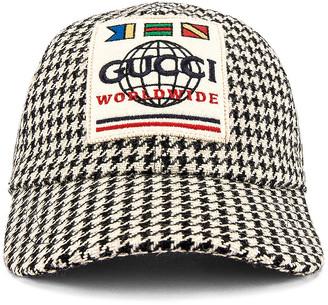 Gucci Baseball Cap in Coffee | FWRD
