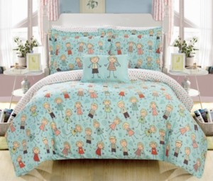 Chic Home Woodland 6 Piece Twin Bed In a Bag Comforter Set Bedding