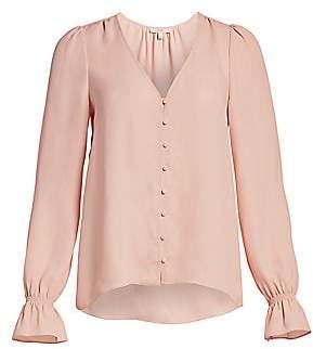 Joie Women's Bolona Long Puff-Sleeve Blouse