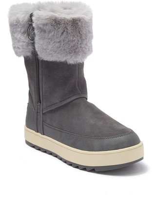 Koolaburra By Ugg Tynlee Suede & Faux Fur Boot