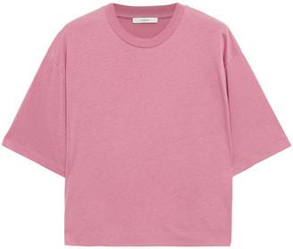 Vince Melange Stretch-jersey T-shirt