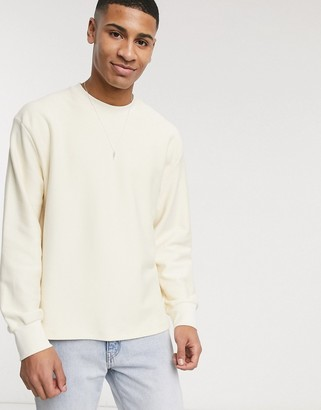 Topman twill sweat in stone