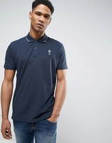 Jack and Jones Core Polo Shirt With Tipping