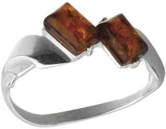 Nature D'ambre Nature d 'Ambre 3111171Women's Ring Silver 925/1000Amber