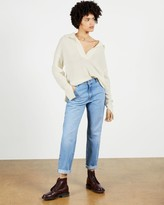Thumbnail for your product : Ted Baker Open Collar Knit Jumper
