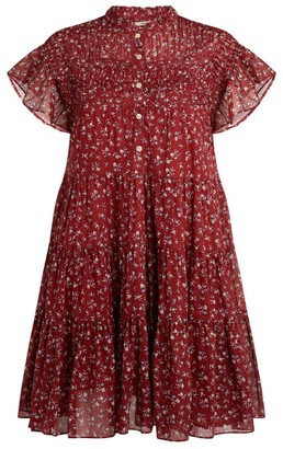 Etoile Isabel Marant Lanikaye Floral Mini Dress