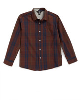 Volcom &Bullock& Plaid Woven Shirt (Toddler Boys, Little Boys & Big Boys)