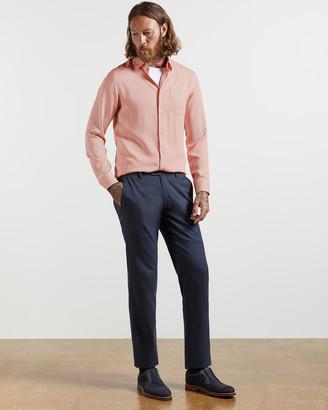 Ted Baker LOHARV Lyocell soft plain shirt