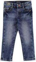Mayoral Slim-Fit Pique Denim Jeans, Size 3-7