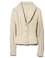 L.L. Bean Signature Cotton Fisherman Cardigan Sweater