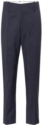 Etoile Isabel Marant Noah high-rise straight wool pants