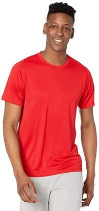 adidas FreeLift Solid Tee (Scarlet) Men's Clothing
