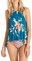 Billabong Women's Real Love Print High Neck Tank