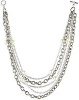 Pearl and Chains Necklace