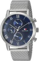 Tommy Hilfiger Men's 'SOPHISTICATED SPORT' Quartz Stainless Steel Casual Watch, Color:Silver-Toned (Model: 1791398)