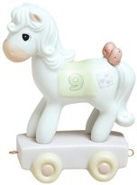 "Precious Moments Birthday Train ""Being Nine Is Just Divine"" Figurine"