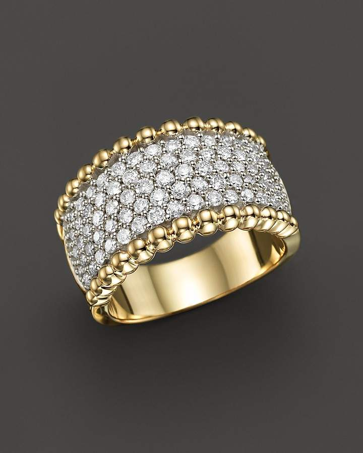 Bloomingdale's Diamond Band Ring in 14K Yellow Gold, 1.25 ct. t.w.